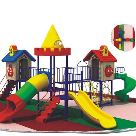 儿童城堡滑梯室内