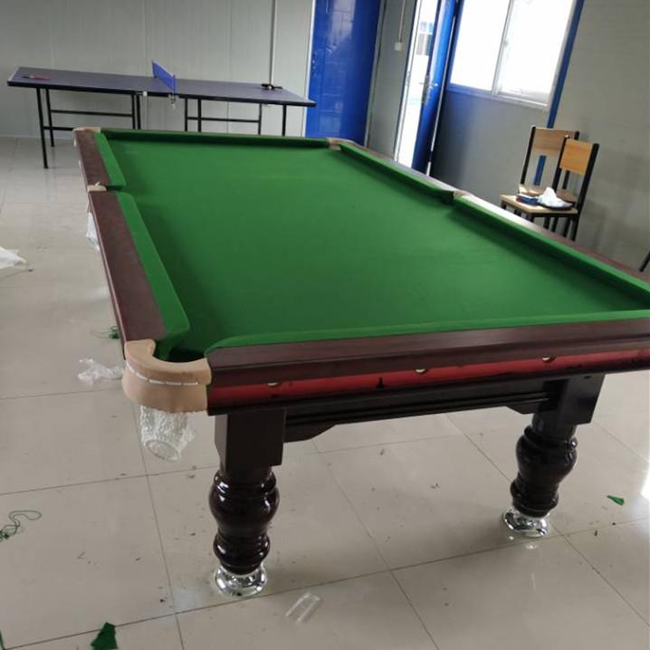 美式台球桌家用标准型室内桌球台黑八商用台球桌台